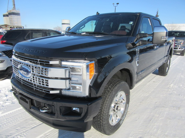 2019 Ford Super Duty F-350 SRW Platinum (FTS212) Main Image